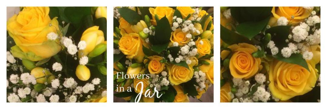 yellow-wedding-flowers-church-crookham-hampshire-wedding-surrey-fleet-spring-winter-stylish